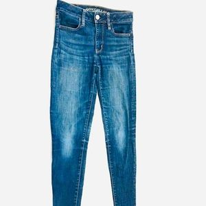 AMERICAN EAGLE Good Cond Hi Rise SkinnyLeg Denim